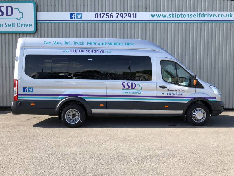 FORD TRANSIT MINIBUS for hire from Skipton Self Drive